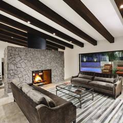 Remodelación Casa BR: Salas de estilo  por Juan Luis Fernández Arquitecto