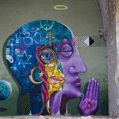 Street Art - Master Peace:  Garage & Schuppen von BOMBYE Kreation