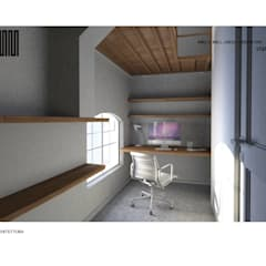 Flat refurbishment and conversion by MCMM:  Study/office by MCMM Architettura