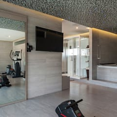 صالة الرياضة تنفيذ HO arquitectura de interiores