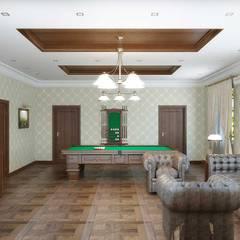Salas multimedia de estilo  por Симуков Святослав частный дизайнер интерьера