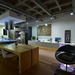 Dining room by HECHER YLLANA ARQUITETOS