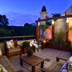 Balcones y terrazas de estilo rústico de Stúdio Márcio Verza Rústico