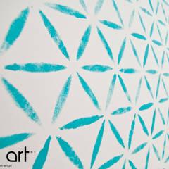 Sypialnia 2: styl , w kategorii Ściany zaprojektowany przez Novi art