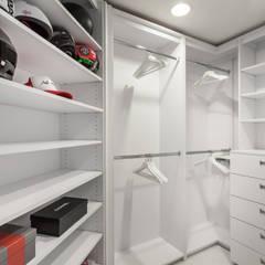 Open Closet: Closets modernos por Regina Claudia p. Galletti