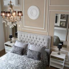 Remodelación Dormitorio Estilo Francés Dormitorios clásicos de Estudio Nicolas Pierry Clásico