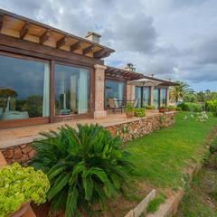 Villa S'Aranjassa auf Mallorca:  Garten von Dolores Boix