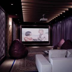 Grand Villa: styl , w kategorii Pokój multimedialny zaprojektowany przez Shtantke Interior Design