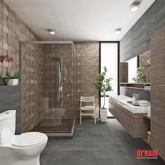 Vista Interior -Cuarto de baño: Baños de estilo  por Estudio Meraki