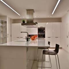 Projekty,  Kuchnia na wymiar zaprojektowane przez DosiCreatius