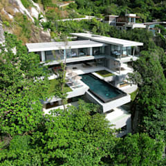 Villa Amanzi:  Houses by Original Vision