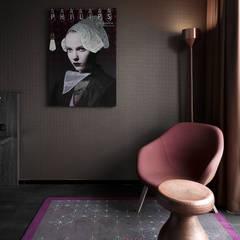 Kamerinrichting:  Hotels door Ab Interieurarchitect