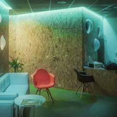 Gimnasio holístico en Alcobendas: Spa de estilo  de anguloarquitectos