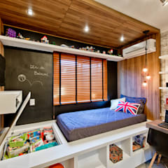 Dormitorios infantiles de estilo  por Espaço do Traço arquitetura, Industrial
