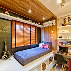 industriële Kinderkamer door Espaço do Traço arquitetura