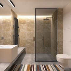Bathroom by Lugerin Architects