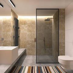 حمام تنفيذ Lugerin Architects