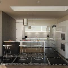 Nhà bếp by 21arquitectos