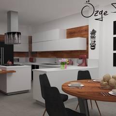 Deniz Gökçe Mimarlık ve İnşaat – Mutfak Tasarım   Kitchen Design:  tarz Mutfak