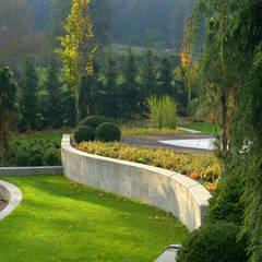 Ogród w górach Pracownia Projektowa Architektury Krajobrazu Januszówka Nowoczesny ogród