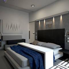 minimalistic Bedroom by diparmaespositoarchitetti