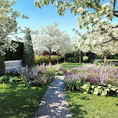 Плодовый сад: Сады в . Автор – Руслан Михайлов rmgarden, Средиземноморский