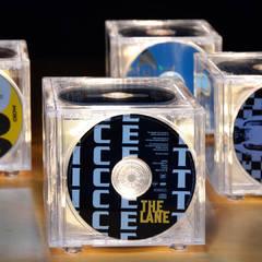 THE 'CD-LIGHT' TABLE LAMP - A LITTLE LIGHT MUSIC.:  Media room by it's a light
