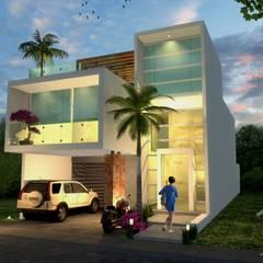 خانه ها by Milla Arquitectos S.A. de C.V.