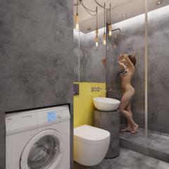 Ванные комнаты в . Автор – BRO Design Studio, Минимализм