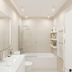 حمام تنفيذ BRO Design Studio