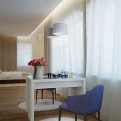 спальня: Спальни в . Автор – Архитектурная мастерская 'SOWA', Минимализм