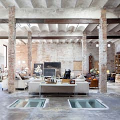 Living room by homify, Industrial