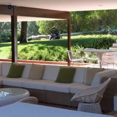 Casa AXS6: Terrazas de estilo  de Jacobo Lladó Estudio de Arquitectura