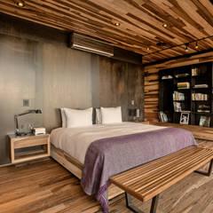 Casa Evans: Dormitorios de estilo  por A4estudio,Moderno