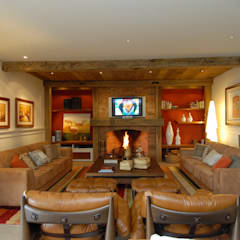 Living room by Finkelstein Arquitetos