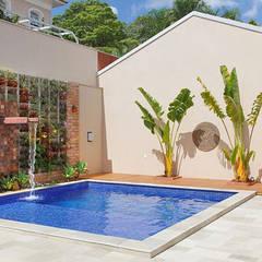 Pool by Moran e Anders Arquitetura,