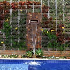 สวน by Moran e Anders Arquitetura