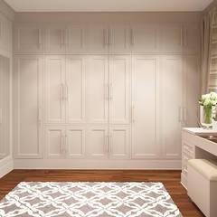 Łowicz po amerykańsku: styl , w kategorii Garderoba zaprojektowany przez FAMM DESIGN