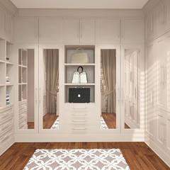 Closets de estilo  por FAMM DESIGN
