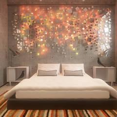 Męska rzecz: styl , w kategorii Sypialnia zaprojektowany przez FAMM DESIGN