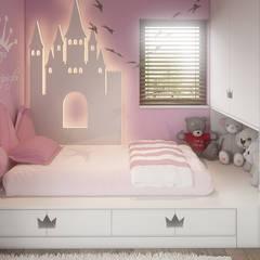 minimalistische Kinderkamer door FAMM DESIGN