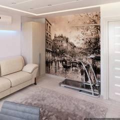 Коттедж 150 кв.м. в Энгельсе, Волжский проспект: Тренажерные комнаты в . Автор – hq-design