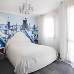 mediterranean Bedroom by Alessandro Corina Interior Designer