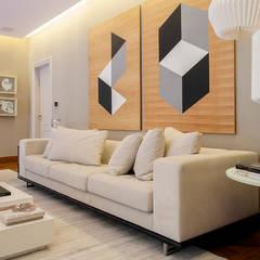 Sala de Estar: Salas de estar  por Deborah Basso Arquitetura&Interiores