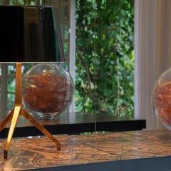 Detalhes: Jardins de inverno minimalistas por Deborah Basso Arquitetura&Interiores