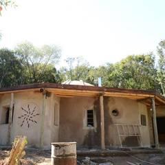 Vivienda CD: Casas de estilo  por Ecohacer Bioarquitectura y Bioconstrucción