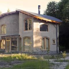Vivienda VE: Casas de estilo rural por Ecohacer Bioarquitectura y Bioconstrucción