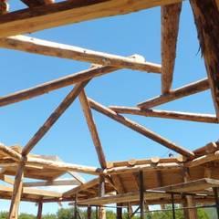 Vivienda TE: Terrazas de estilo  por Ecohacer Bioarquitectura y Bioconstrucción