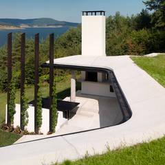 منازل تنفيذ Simon Gill Architects, ريفي