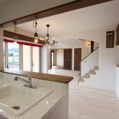 ■ Cote d'Azur Style・コートダジュールスタイル: 株式会社アートカフェが手掛けたキッチンです。